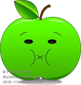 286x300 Granny Smith Apple Clip Art