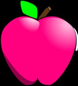 273x299 Magenta Apple Clip Art