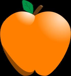 279x299 Orange Apple Clip Art