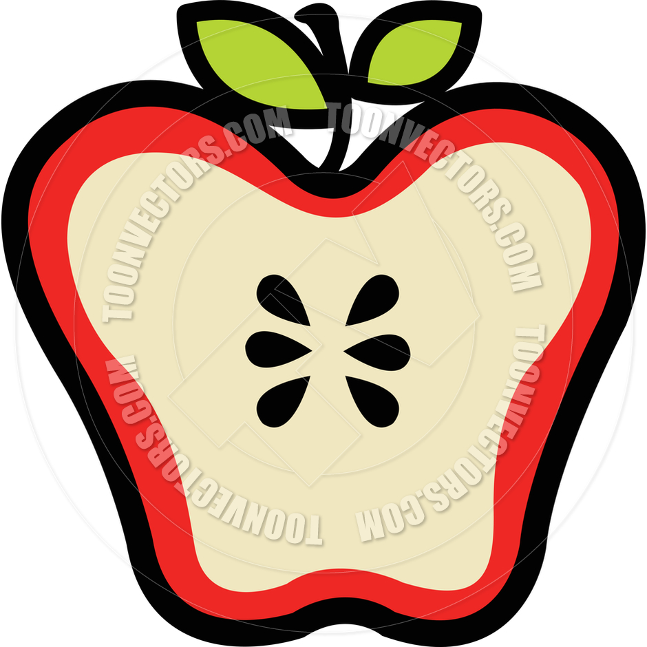 940x940 Collection Of Inside Of An Apple Clipart High Quality, Free