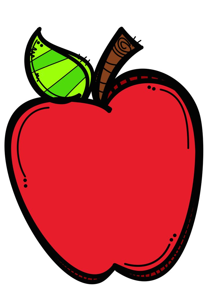 Apple Clipart For Kids