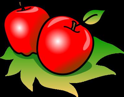 400x313 Apples Clipart