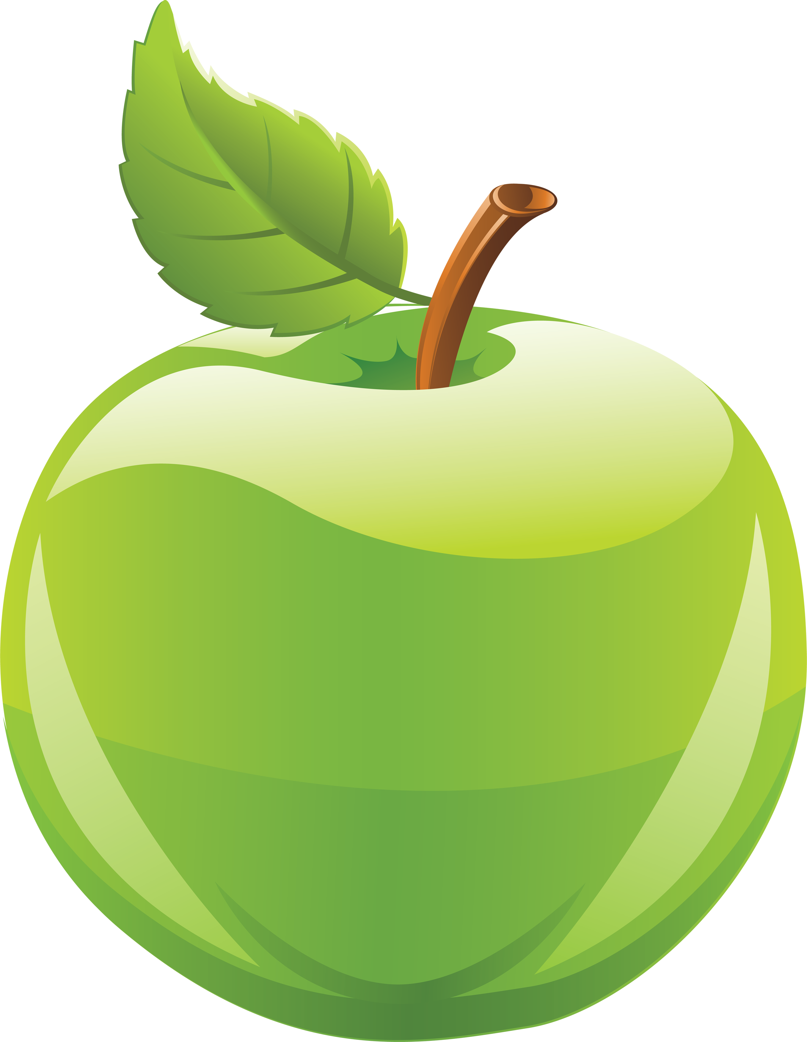 2714x3504 Green Apples Clipart Apple Clip Art Images