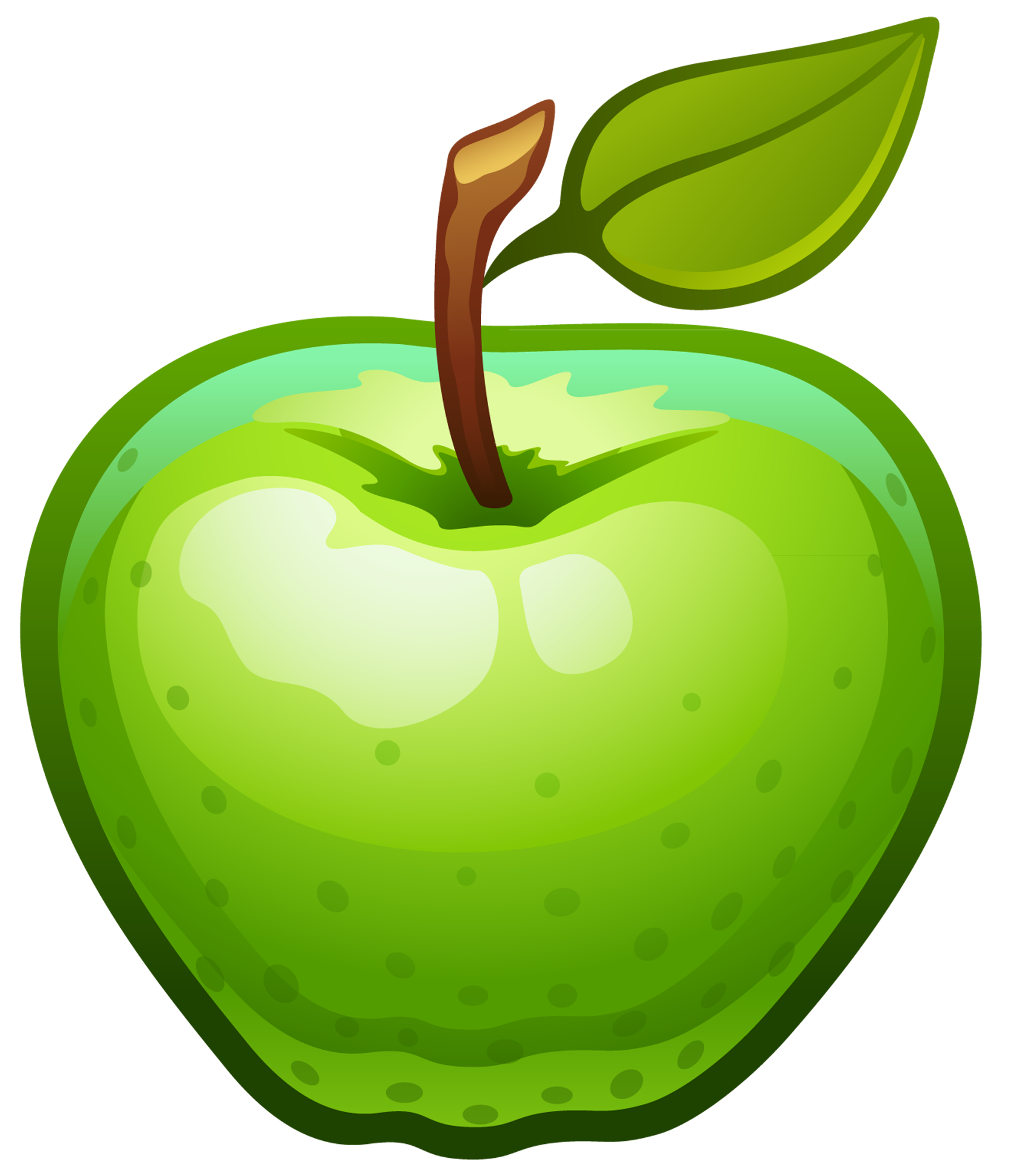 1672x1947 Large Painted Green Apple Png Clipartu200b Gallery Yopriceville
