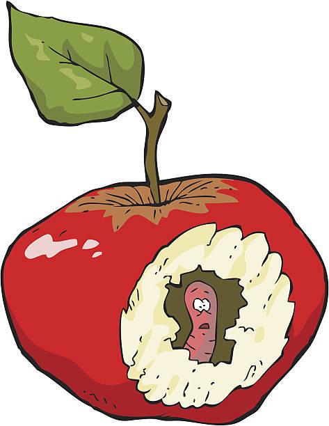 473x612 Clipart Rotten Apple Amp Clip Art Rotten Apple Images