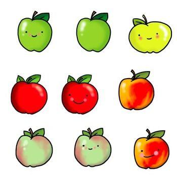 350x349 Cute Apple Clipart 101 Clip Art