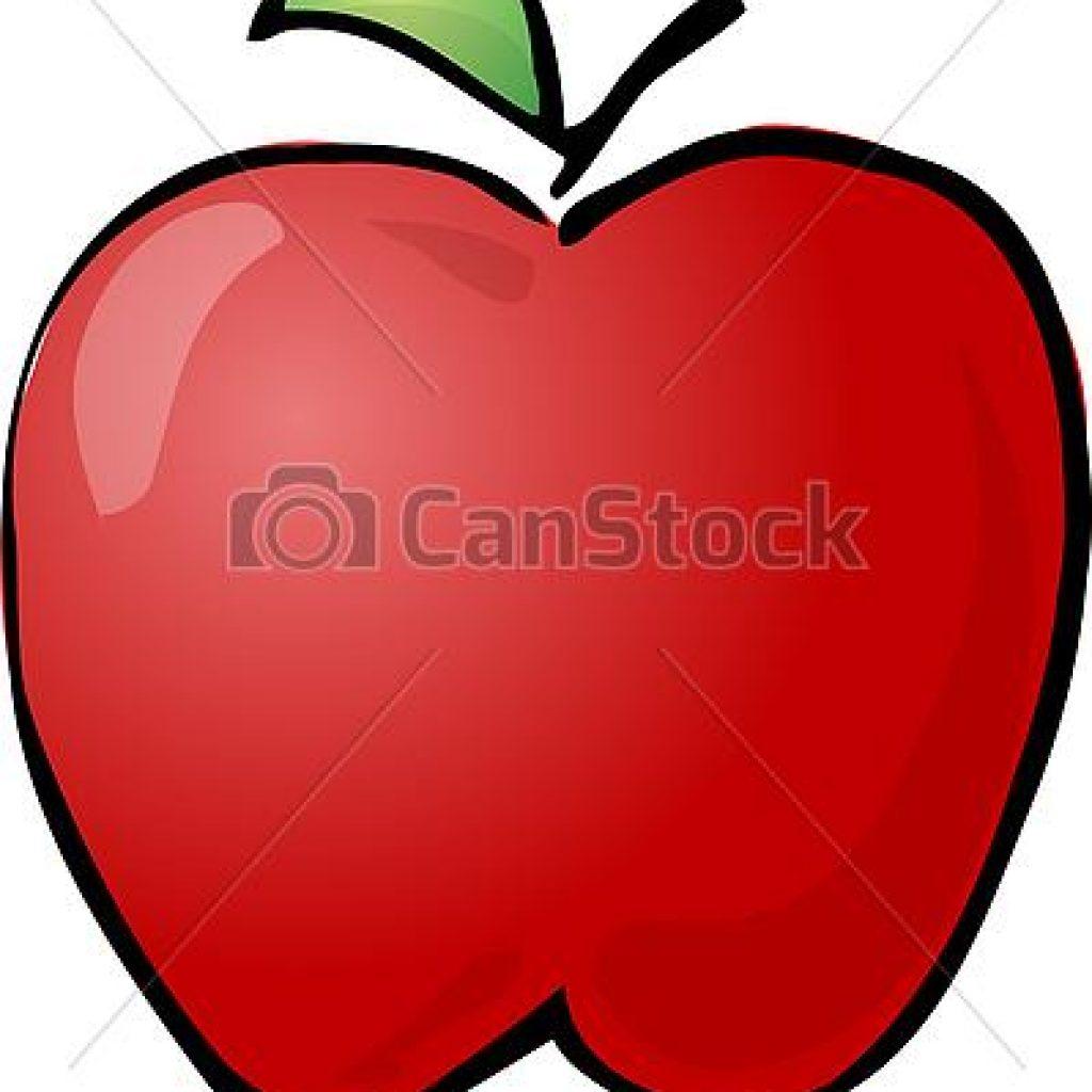 1024x1024 Clipart Of An Apple