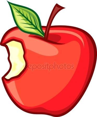 372x450 Bitten Apple Clip Art Clinicaltravel Work