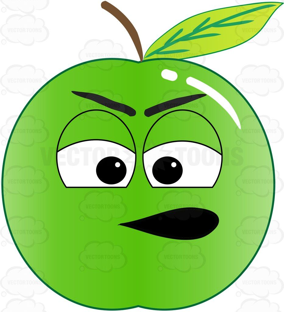 933x1024 Clipart Apple With Face Yanhe Clip Art
