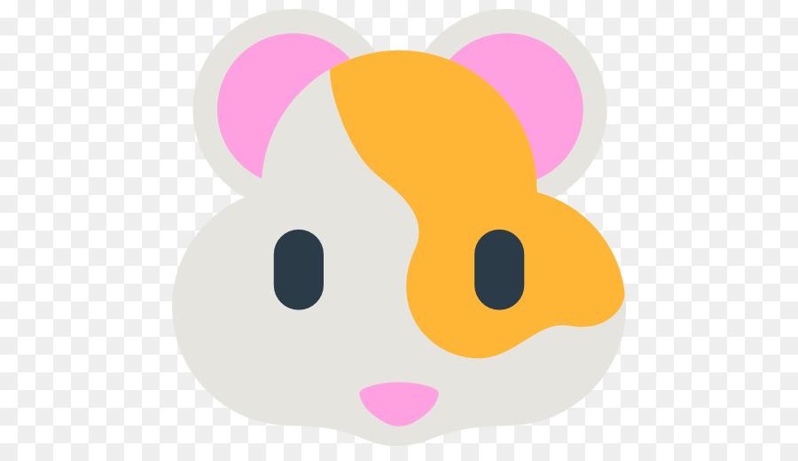 900x520 Hamster Apple Color Emoji Emoticon Clip Art