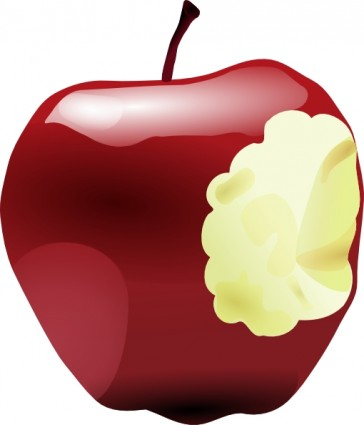 364x425 Apple Logo Clipart Craft Projects, Foods Clipart