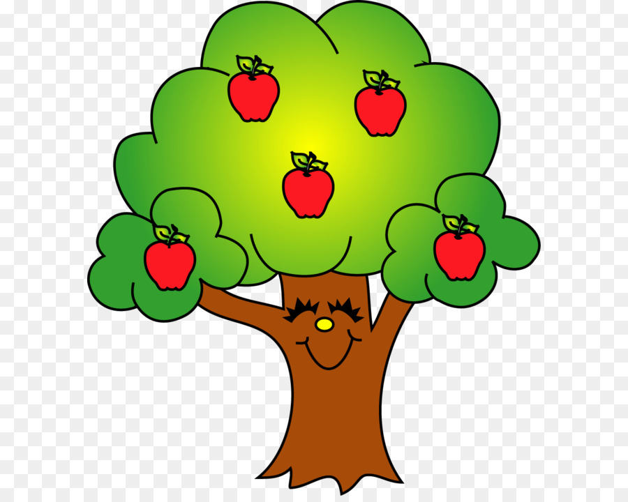 900x720 Apple Tree Fruit Clip Art