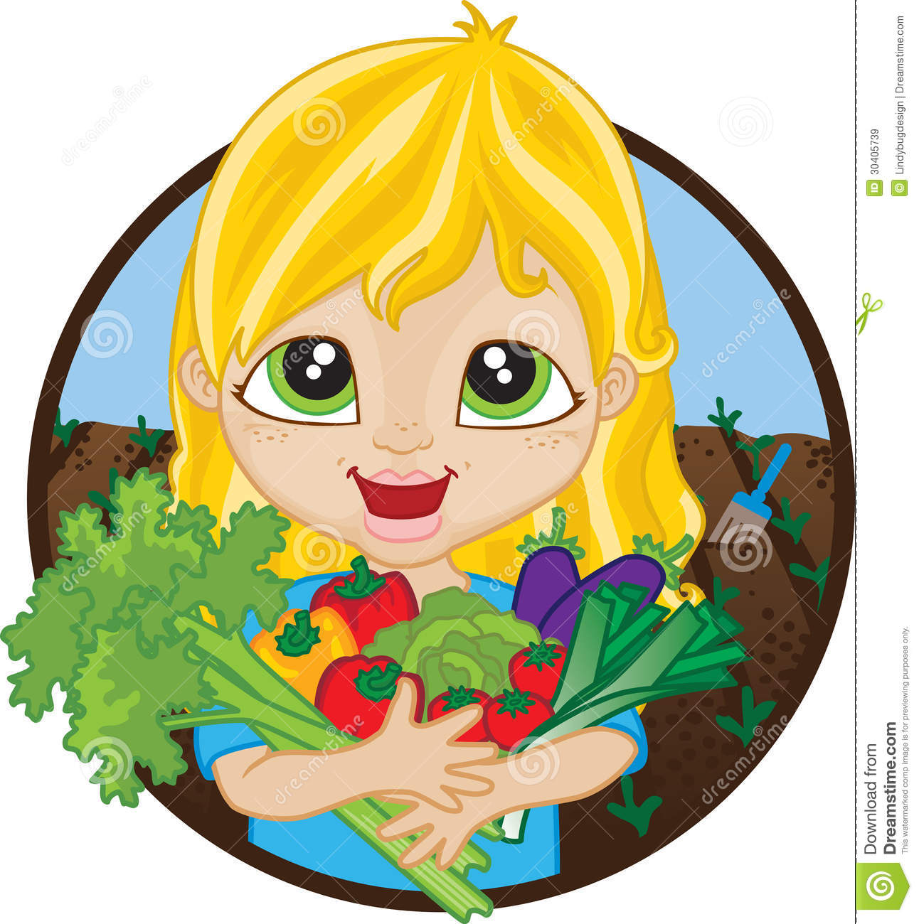 1292x1300 Picking Vegetables Clipart