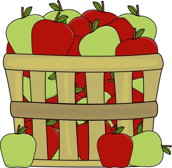 568x555 Apple Harvest Clipart Hd Letters