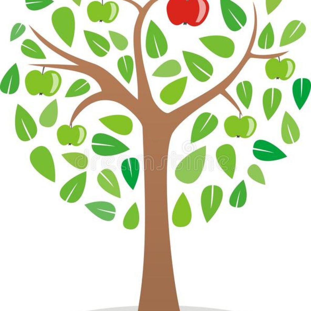 1024x1024 Apple Tree Clipart Bear Clipart