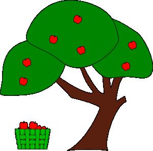 300x296 Apple Tree Clip Art Free Vector 4vector