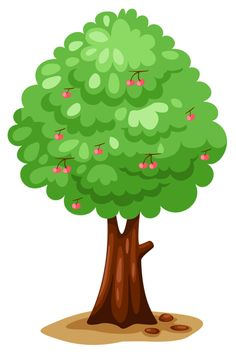 236x355 Painted Green Tree Png Clipart Picture Wallpaper Vintage
