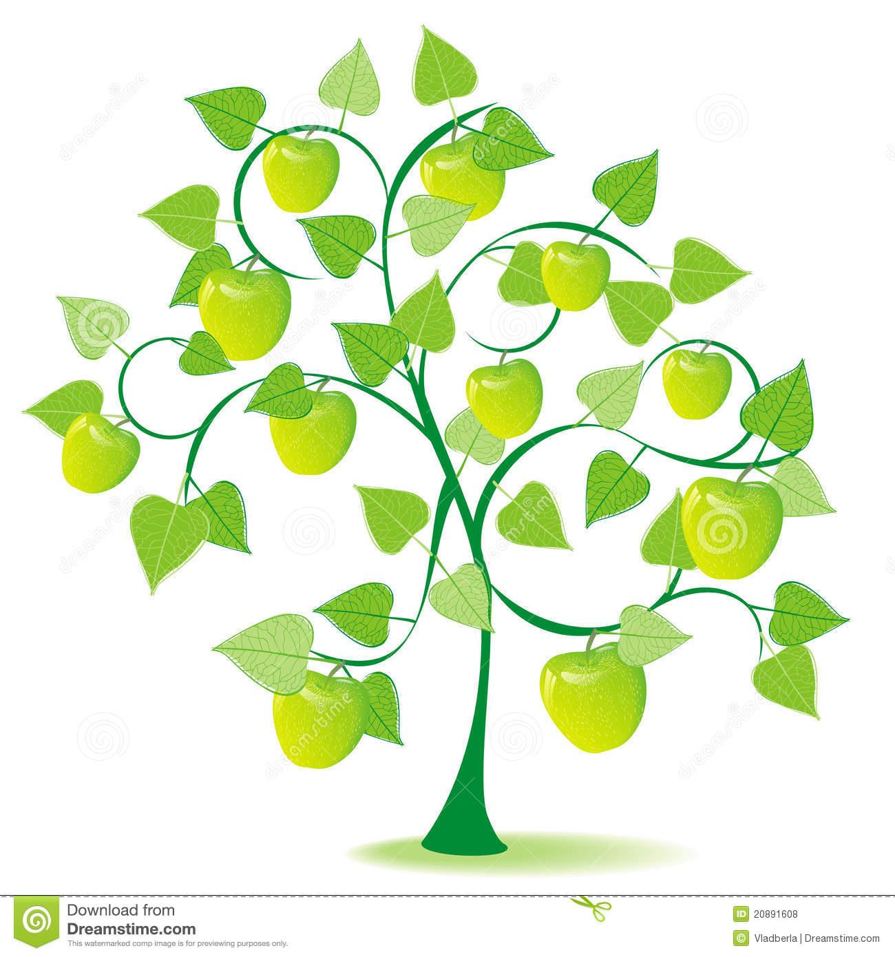 1300x1390 Summer Green Tree Clipart