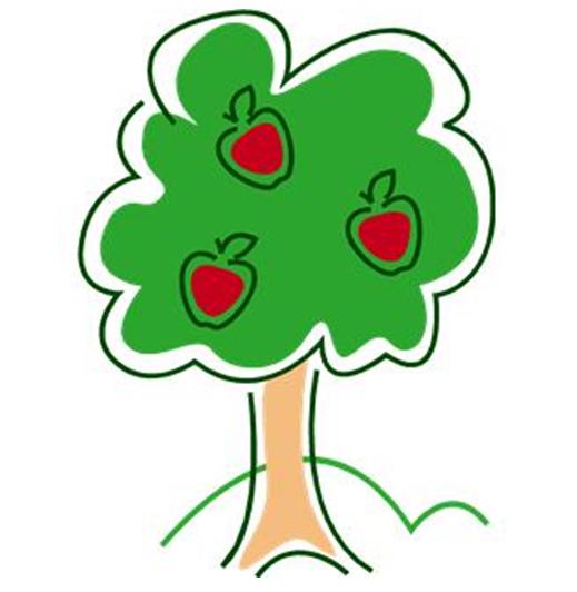 519x532 Tree Clip Art 175 Free Clip Art Trees Hubpages