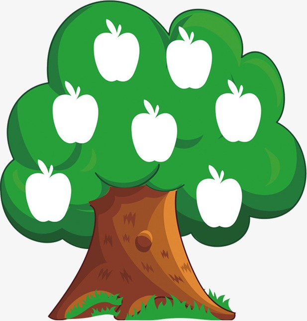 617x646 Apple Tree, Cartoon, Animation Png Image And Clipart For Free Download