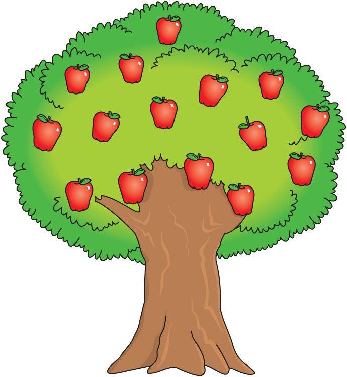 690x750 Apple Tree Clipart