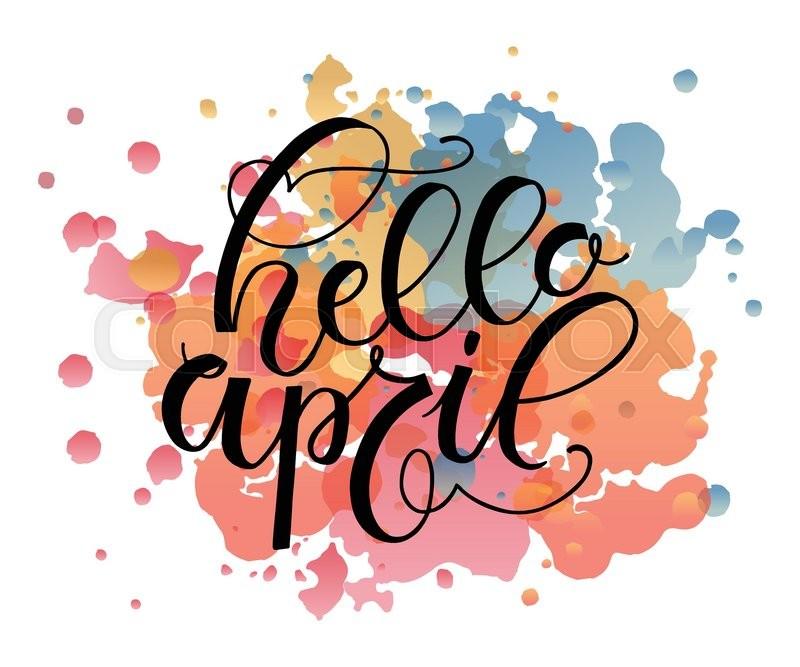 800x667 April Clipart Hello April Clipart Clipart Free Download