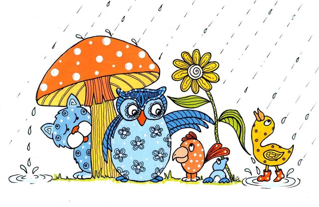 1024x667 April Flowers Clip Art