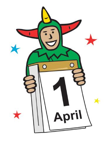 375x484 April Fools Day Clip Art