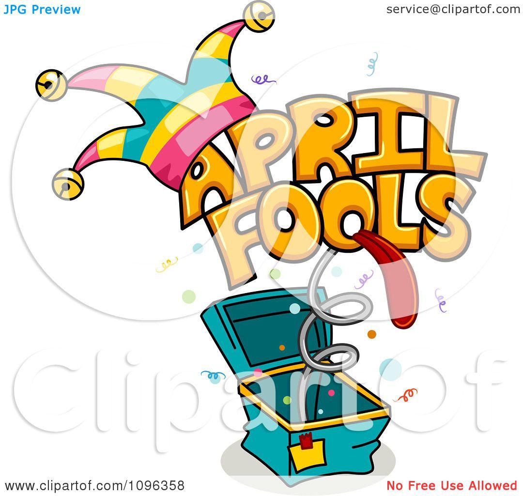 1080x1024 Clipart April Fools Jack In The Box