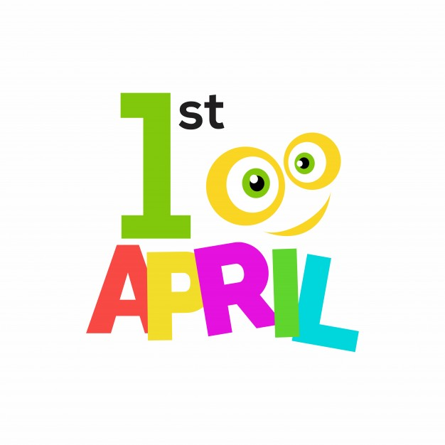 626x626 April Fool's Day, Funny Colorful Background Vector Free Download