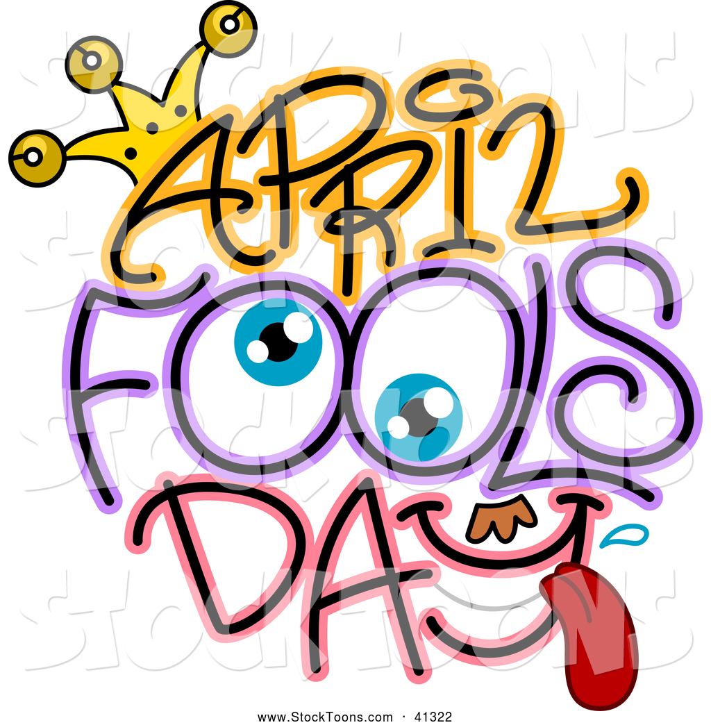 1024x1044 Stock Cartoon Of Eyes In April Fools Day Text By Bnp Design Studio