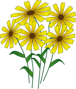 252x298 Clip Art May Flowers