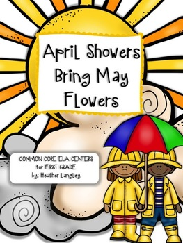 263x350 Ela Centers First Grade April Showers Bring May Flowers Tpt