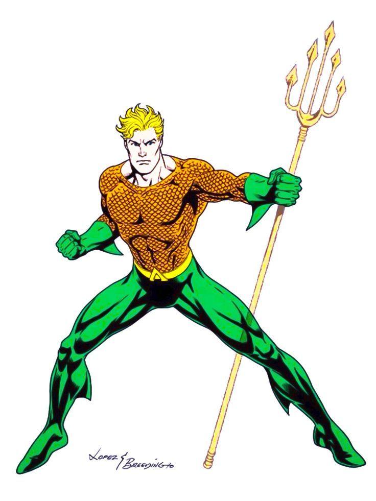 736x981 Aquaman Jose Luis Garcia Lopez
