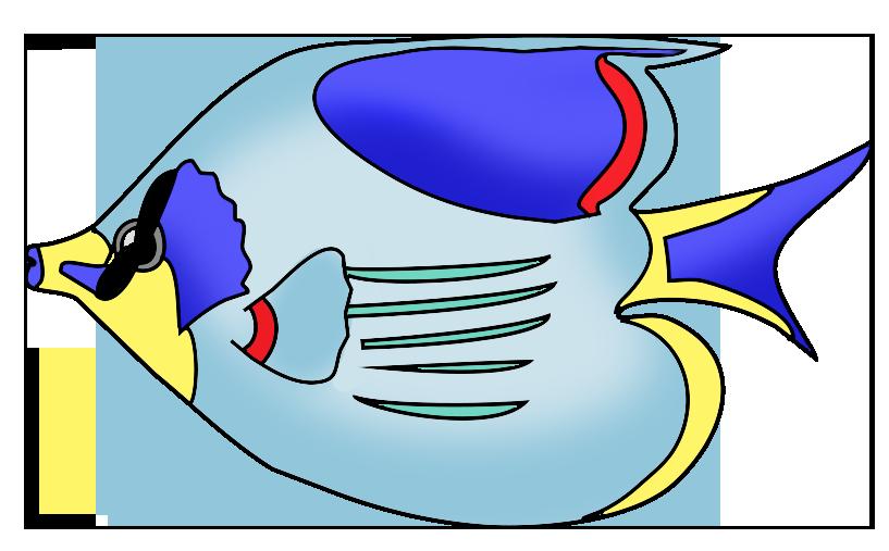 817x507 Fish Clip Art