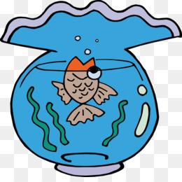 260x260 Goldfish Aquarium Drawing Clip Art