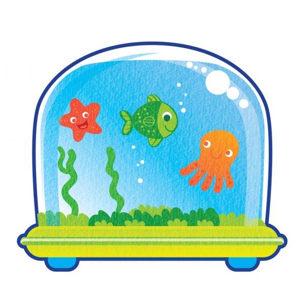 600x600 Fish Aquarium Clipart Fish Tank Accessories Clipart 1