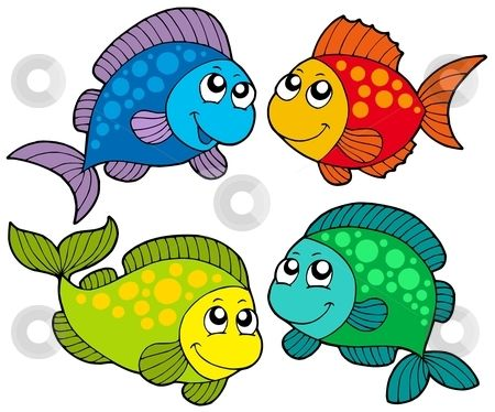 450x374 Free Cute Clip Art Cute Cartoon Fishes Collection Stock Vector