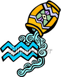 238x300 Blue Aquarius Symbol With Pouring Water