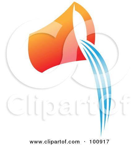 450x470 Royalty Free (Rf) Water Pourer Clipart, Illustrations, Vector