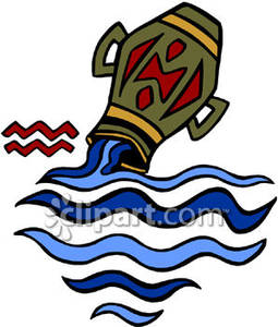 255x300 The Zodiac Sign For Aquarius And The Water Jar