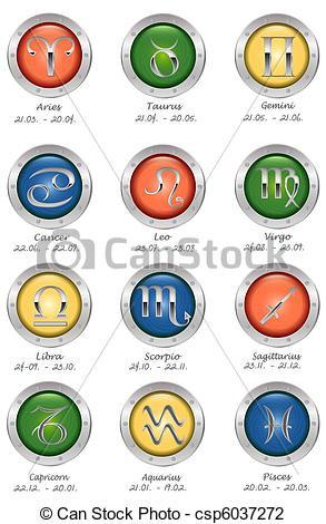 293x470 Zodiac Signs Clip Art Free Set Of Air Zodiac Signs Libra Aquarius