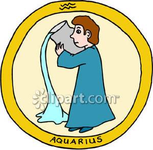 300x294 Aquarius Pouring Water