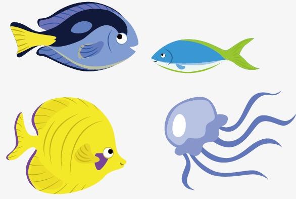 586x393 Tropical Fish, Marine Life, Aquatic Product Png Image And Clipart