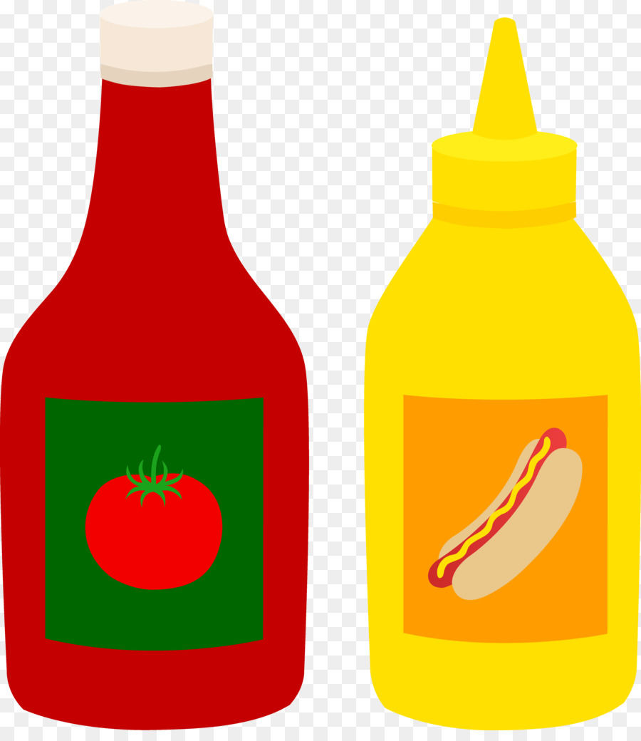 900x1040 Barbecue Sauce Marinara Sauce French Fries Clip Art