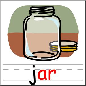 304x304 Clip Art Basic Words Ar Phonics Jar Color I