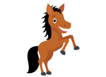 210x153 Clipart Of Horses Collection