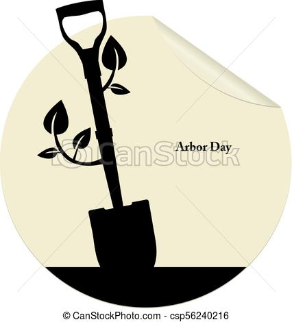 426x470 Arbor Day Vector Vector Clip Art Royalty Free. 2 New Images Added