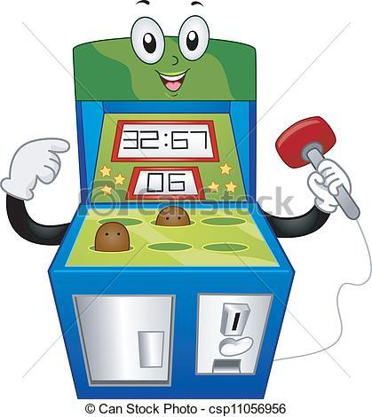 419x470 Arcade Game Vector Clipart Eps Images. 4,235 Arcade Game Clip Art