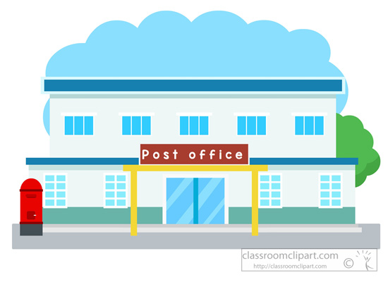 550x400 Post Office Clip Art Architecture Clipart Post Office Building